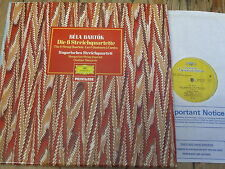 2733 001 Bartok The 6 String Quartets / Hungarian Quartet 3 LP box