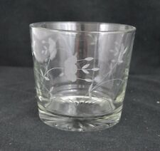 Princess House Heritage Etched Crystal Glass Ice Bucket