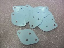 20pcs MICA TO-3 THERMAL RUBBER SILICON TRANSISTOR INSULATOR PAD