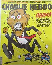 CHARLIE HEBDO No 1268 de NOVEMBRE 2016 OBAMA DE NOUVEAU CITOYEN COMME LES AUTRES
