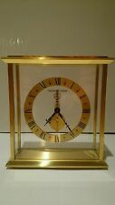 Immaculate condition Jaeger Le Coultre Baguette Skeleton Carriage/Mantel Clock