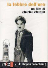 LA FEBBRE DELL'ORO - C. CHAPLIN - 2 DVD (NUOVO SIGILLATO)