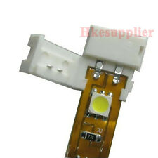 10X 10MM Width Connector With Line For Single Color 5050 Led Strip lights
