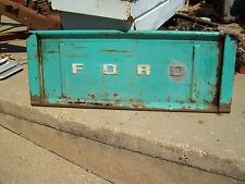 Vintage 50's 60's Ford Truck Stepside Tailgate  Cool Paint Patina Man Cave Bench