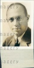 1932 US Booking Agent Promoter Meyer Davis Press Photo