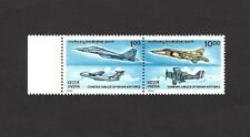India 1992 India Air Force Jubilee se-tenant pair MNH