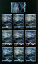 Island ~ Battle for Zendikar ~ x10 ~ MTG Magic the Gathering ~ NM Foil Full Art