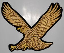 "Large Golden Eagle  Embroidered Patch 10""x8"""