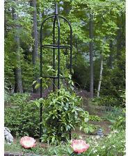 Garden Obelisk Trellis Decor Steel Plants Vines Outdoor Home Arbor