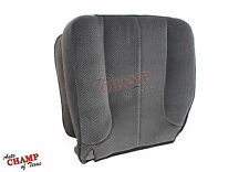 2003-2005 Dodge Ram 1500 2500 3500 SLT -Driver Side Bottom Cloth Seat Cover Gray
