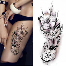 Fashion Removable Waterproof Temporary Plum Blossom Body Tattoo Sticker
