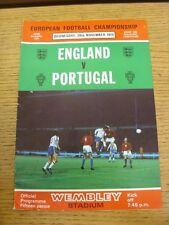 20/11/1974 angleterre/portugal [à wembley]. merci pour considérer notre objet, nous ne