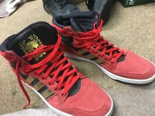 ADIDAS GIOIA High Top Red/Gold Shoes Men's Size 14  Excellent Condition!