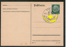 SONDERSTEMPEL Deutsches Reich 1937 SST Postkarte Beleg BERLIN gestempelt PK