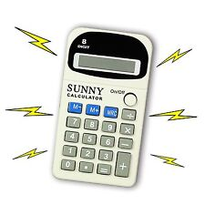 Calculator Electric Shocking Toy Office Prank Joke Funny Trick Novelty Gag Gift