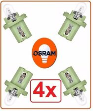 4x 2722MFX 2W 12V BX8.5d OSRAM circuit board auto car bx8,5d philips vw Germany