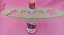 12mm Thick MDF Star bottle and glass holder craft blank
