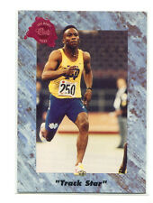 1991 Classic Four-Sport PROMO Raghib Ismail/Rocket Ismail Track Star Notre Dame