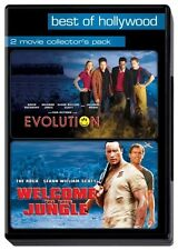 WELCOME TO THE JUNGLE/EVOLUTION (2DVDs) Dwayne Johnson