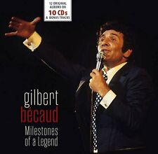 Gilbert Becaud - Milestones of a Legend (2017)  10CD Box Set NEW  *13th January*
