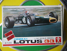 Bandai Lotus 33 Jim Clark Plastic Kit Boxed Unmade 1:32 Wind-Up Motor