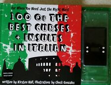 100 of the Best Curses + Insults in Italian by Kristen Hall Hardcover Book