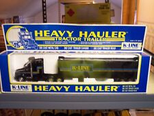 K-Line K-8108 Die Cast Tractor Trailer 1/48 Scale Heavy Hauler Mint Condition
