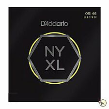 D'Addario NYXL 0946 Nickel Wound Regular Light Electric Guitar Strings 9-46