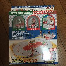 Mario Kart slot racing mini car set mario party