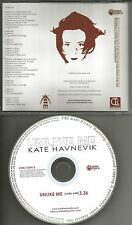 KATE HAVNEVIK Unlike me w/ RARE RADIO EDIT PROMO DJ CD single Grey's Anatomy