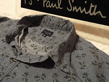 """PAUL SMITH Mens Shirt �� Size M (CHEST 40"""") �� RRP £95+ �� FUNKY FLORAL PRINT"""