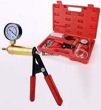 New 2 In 1 Brake Bleeder & Vacuum Pump Test Tuner Kit DIY Hand Tools