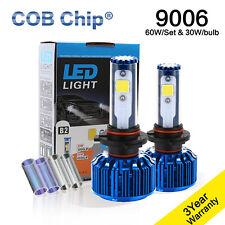 LED Headlight Kit COB White Light Low Beam Bulbs For 2001-2013 Toyota Corolla