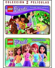 LEGO FRIENDS Friends Are Forever + Together Again **Dvd R2** PAL UK