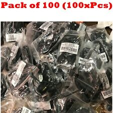 100x 2.5mm Mix Branded Name Brand Headset For Cell Phone MP3 MP4 Tablet Laptop