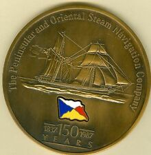 1987 British Medal Issued to Celebrate the Canberra World Cruise