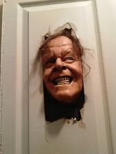 Shinning Jack Torrence Nicholson  horror sculpture 3D PAINTING