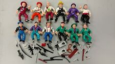 Dick Tracy 12 figures loose lot set & Weapons Playmates Action 1990s Beatty