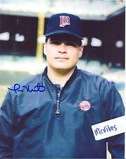Tom Nieto 1987 Minnesota Twins Autographed Signed 8x10 Photo COA