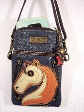 "Chala Horse Cell Phone Convertible Mini Cross Body Purse 5"" X 7"""