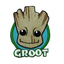 Groot Guardians of the Galaxy Baby Face Patch Marvel Movie Iron-On Applique