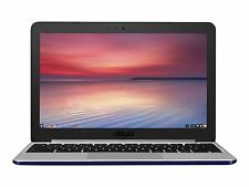 Asus 11.6-Inch Chromebook Laptop w/16GB eMMC, 4GB RAM - Navy Blue, C201PA-D
