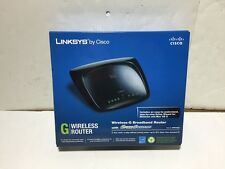 Linksys / Cisco Wireless-G Broadband Router with SpeedBooster, WRT54GS2, 4 Ports
