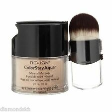 REVLON colorstay aqua mineral foundation with brush in 020 fair/light - 9.9g