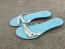 Lacoste Leather Turquoise Sandals