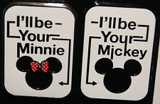 Disney I'll be your Mickey & I'll be your Minnie 2 Pin Set