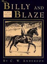 Billy And Blaze: A Boy And His Horse by C.W. Anderson, Good Book