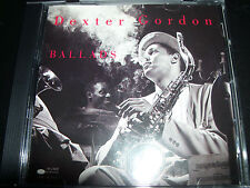 Dexter Gordon Ballads (Bluer Note Jazz CDP 7965792) CD – Like New