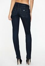 "Miss Sixty £ 136 ""Magic Push Up"" Jeans Attillati Blu Ltd Edition Taglia 6-8 ff16"