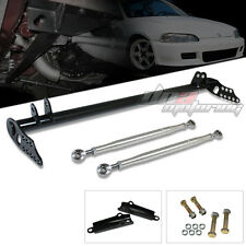 EG/DC2 STEEL SUSPENSION TRACTION CONTROL BAR/ARM FRONT/HANDLING DRIFT RACE JDM